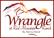 Wrangle at Red Mountain Ranch Logo